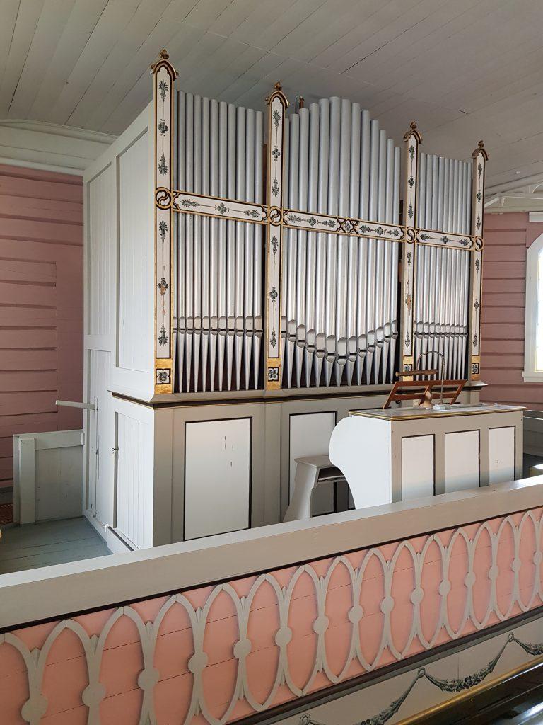 Pneumatisk orgel